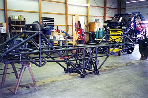 Patrick Enterprises Custom Monster Truck Chassis ...