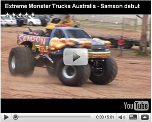Samson Monster Truck Hall Of Fame News Monstertrucks Mattel Hot Wheels Toys Tv Schedule