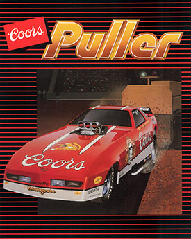 Coors Funny Car Puller
