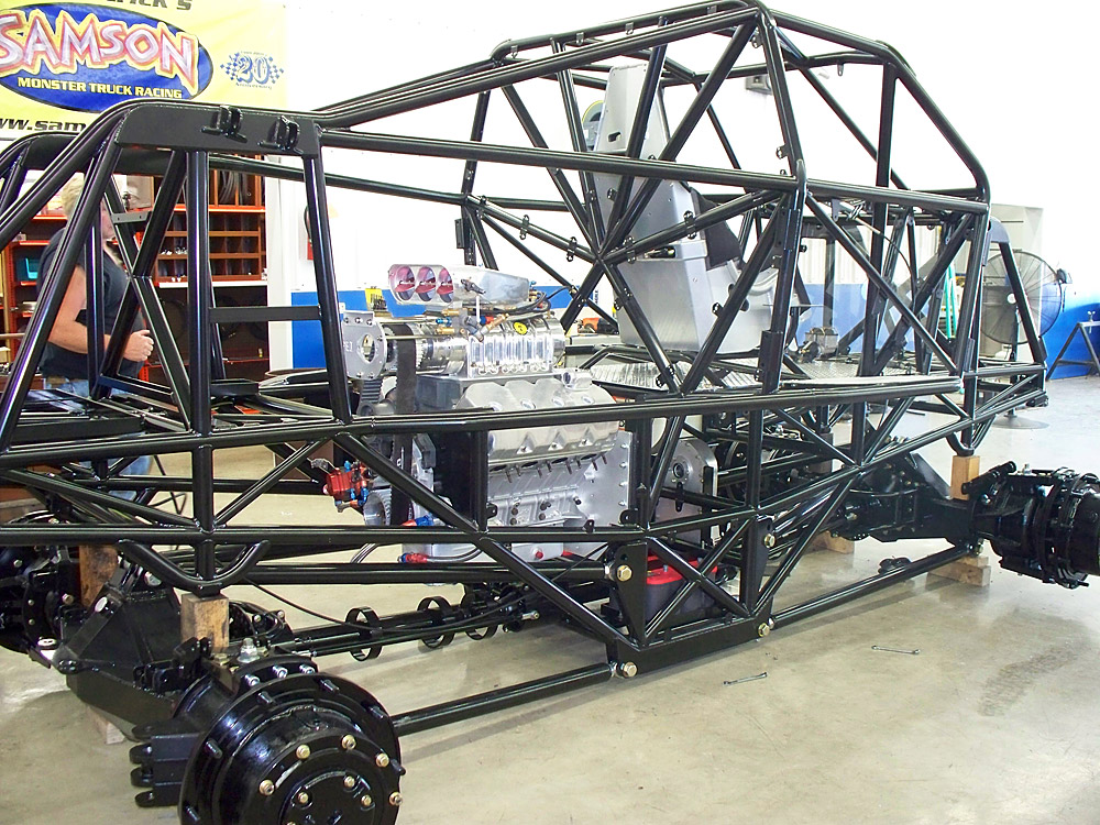 how to build a truck frame