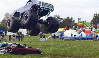 Ian Jones United Kingdom Monster Truck