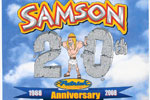 Samson 20th Anniversary Collage