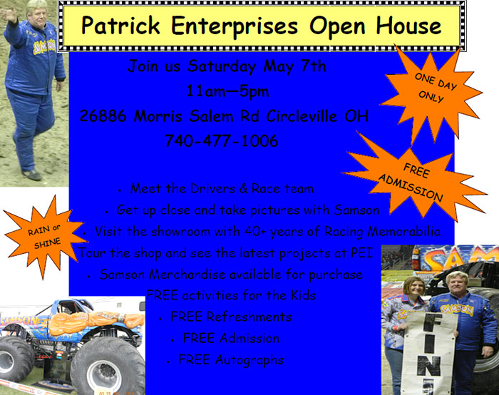 Samson and Patrick Enterprises Open House