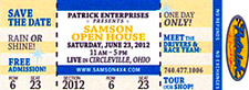 2012 Samson Open House