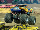 Allison Patrick Driving Samson Monster Truck