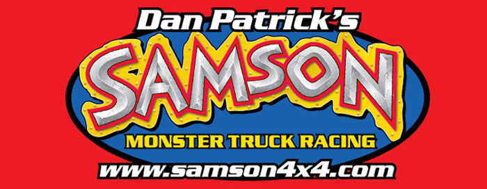 Dan Patrick Samson Monster Truck Racing